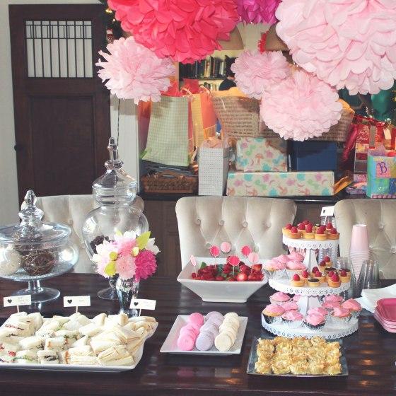 Mesa de comida para baby shower imagui - Decoracion baby shower ...